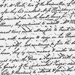 Document, 1779 July 25