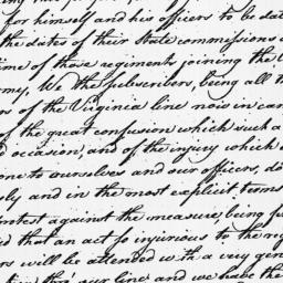 Document, 1779 July 30