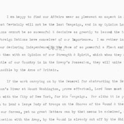 Document, 1776 October 06