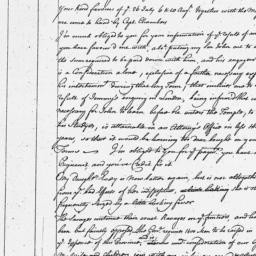 Document, 1763 November 15