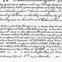 Document, 1800 March 08