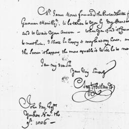 Document, 1806 November 09