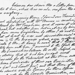 Document, 1807 May 06