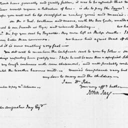 Document, 1820 February 15