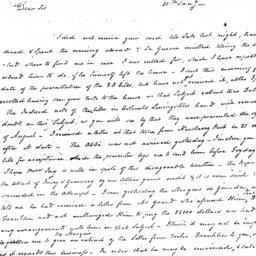 Document, 1781 January 11