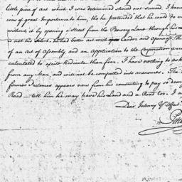 Document, 1771 November 19