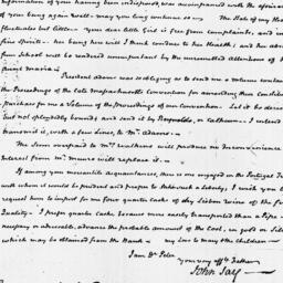Document, 1822 February 04