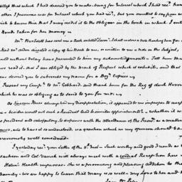 Document, 1822 January 14