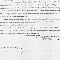 Document, 1821 October 29
