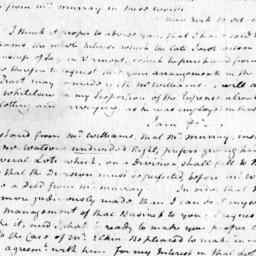 Document, 1806 November 5