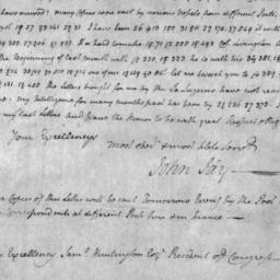 Document, 1781 January 28