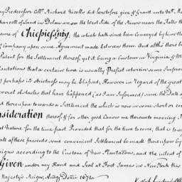 Document, 1671 n.d.