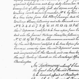 Document, 1769 July 10