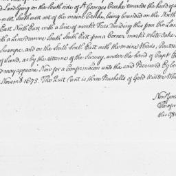 Document, 1675 November 05