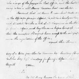 Document, 1784 March 2 - 17...