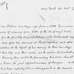 Document, 1795 October 30