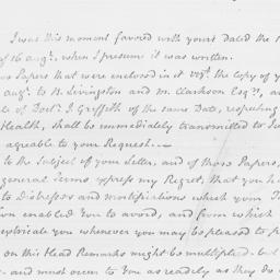 Document, 1795 August 21
