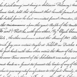Document, 1785 November 11