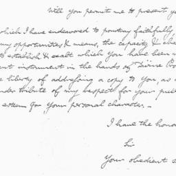 Document, 1818 April 6