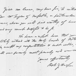 Document, 1804 May n.d.