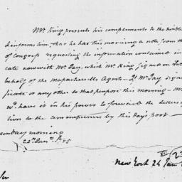 Document, 1785 January 24