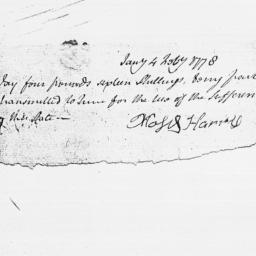Document, 1778 February 04