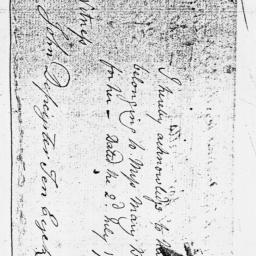 Document, 1774 July 02