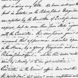 Document, 1784 May 22