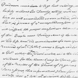 Document, 1762 November n.d.