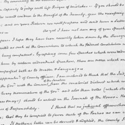Document, 1821 October 9