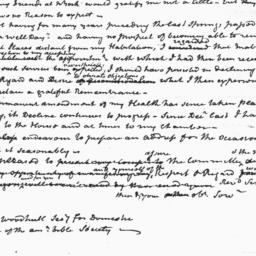 Document, 1823 March 25