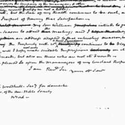 Document, 1822 April 23