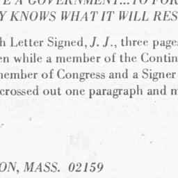 Document, 1776 July 6