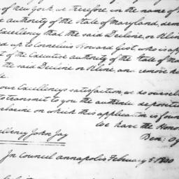 Document, 1800 January 29