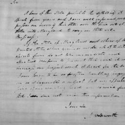 Document, 1779 January 23