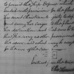 Document, 1779 July 07