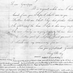 Document, 1819 March 15