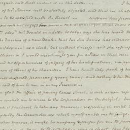 Document, 1821 April 03