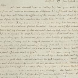 Document, 1808 January 27