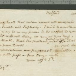 Document, 1813 October 12