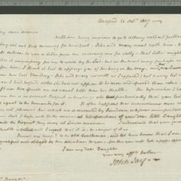 Document, 1807 October 31