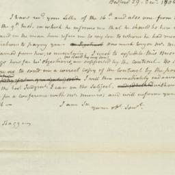 Document, 1806 December 29