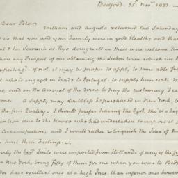Document, 1823 November 25