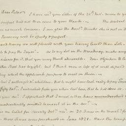 Document, 1823 January 28