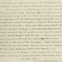 Document, 1822 July 29