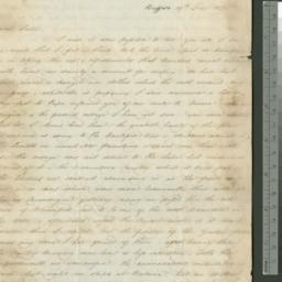 Document, 1821 June 29