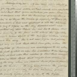 Document, 1820 May 16