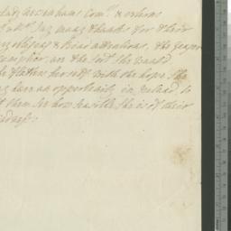 Document, 1784 n.d.