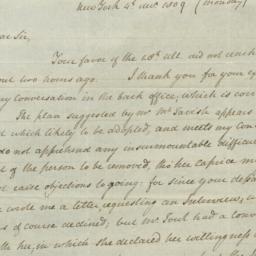 Document, 1809 December 04