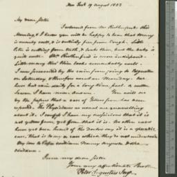 Document, 1823 August 19